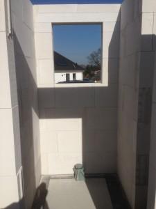 Gäste-WC mit Dusch-Niesche