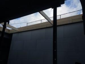 Blick auf Treppendurchgang