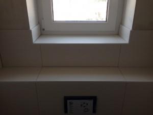 Fensterbereich Gäste-WC