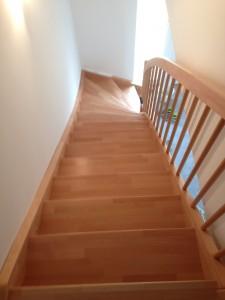 Saubere Treppe